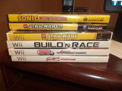 Wii Games/Gamecube Games