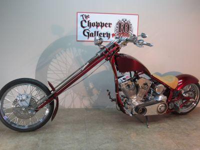 2007 Big Bear Choppers Merc Softail (CA) - [MERCSOFTAIL] - RED Motor Bikes Motorcycles Temecula, CA