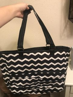 Large thirty one reversible bag - double take tote
