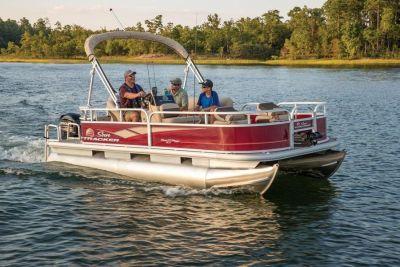 2018 Sun Tracker Bass Buggy 18 Pontoon Boats Boats Gaylord, MI