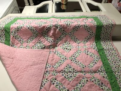Homemade Baby Quilt $3
