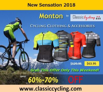 New Sensation 2018 | Monton Cycling Jersey by Classic Cycling – Up to 70% Sale