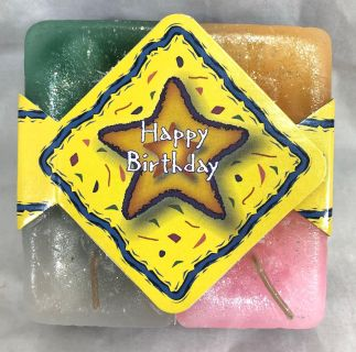 Crystal Journey Candles Birthday Candles
