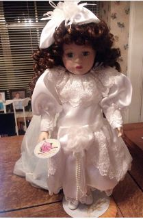 Porcelain Doll--Collectible