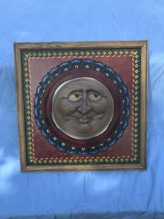 Home decor wall hanging ((MOVING SALE)) heavy. Great condition