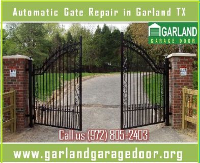 1 Hour | Automatic Gate repair ($25.95) Garland, TX