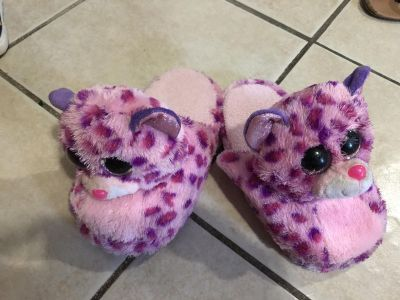 Beanie baby slippers size 1