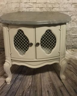 French Provincial nightstand/end table