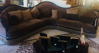 Large sofa set