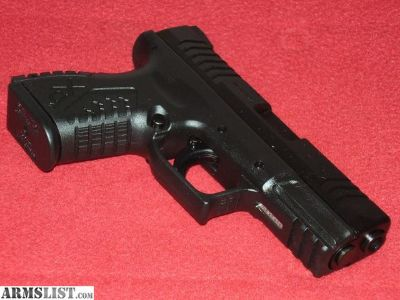 For Sale: Springfield XDM 3.8 Compact Pistol (9mm)