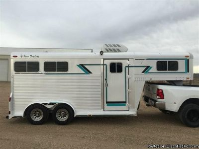 1991 4 Star ALL aluminum 2 horse trailer