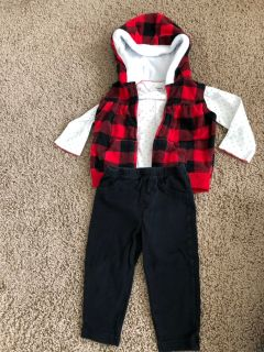 Carter s 12 month winter outfit