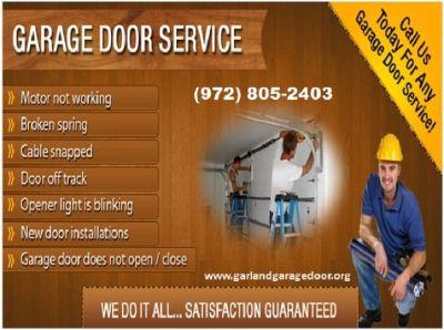 24/7 New Garage Door Installation company   Garland, TX