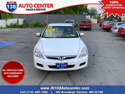 2007 Honda Accord Value Package (Taffeta White)