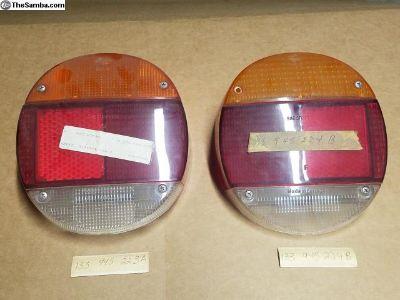 NOS German 73-79 Beetle Bug Thing Tail Light Lense