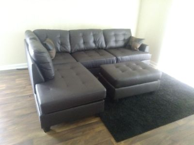 Sectional with ottoman $699 any one
