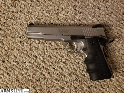 For Sale: Ruger SR 1911 Government Stainless