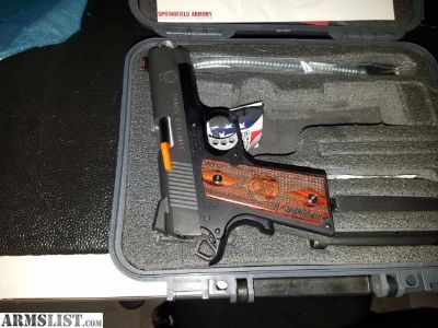 For Sale/Trade: Springfield Range Officer compact in 9mm BNIB
