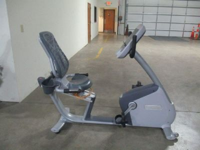 Precor RBK 815 Recumbent Bike  RTR# 8123373-13