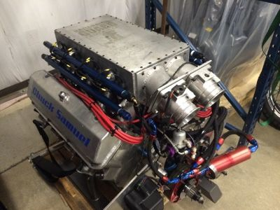 Aluminum 598 CI Turbo Engine Capable Of 3500 Horsepower