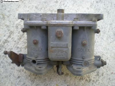 Porsche 356 912 Solex Carburetor 40 PII-4