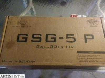 For Sale: GSG - 5P