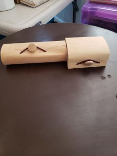 2 Small Wooden Boxes