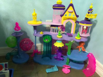 My Little Pony: The Movie Canterlot & Seaquestria Castle with Light-Up Tower XPOSTED PPU
