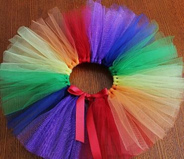 Regular or Knotted Tutus in ANY color