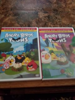 Angry birds toons season one volume 1 and 2