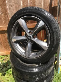 2016 mustang factory rims and tires