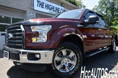 2015 Ford F-150 4WD SuperCrew XLT (Ruby Red)