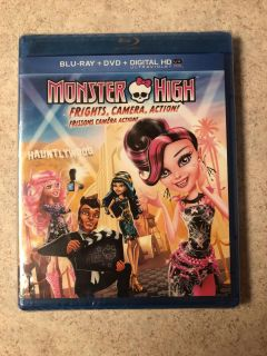 New Blue Ray and DVD Monster High