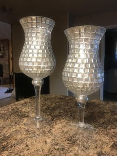 Mercy Glass look Candle Holder