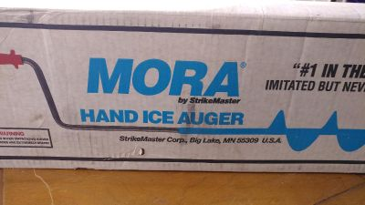 Unopened MORA Hand Ice Auger $20 OBO