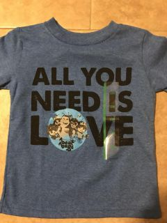 Toddler boy 18 month shirt new! all you need is love Best Bugs