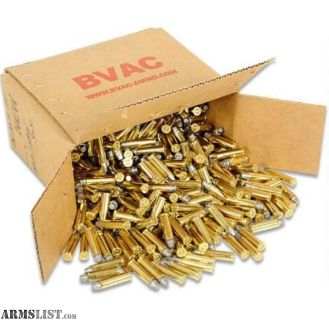 For Sale: 500 Round Box .357 Magnum, BVAC, SWC, 158 Grain, 1002 fps, Target and Plinking Ammunition