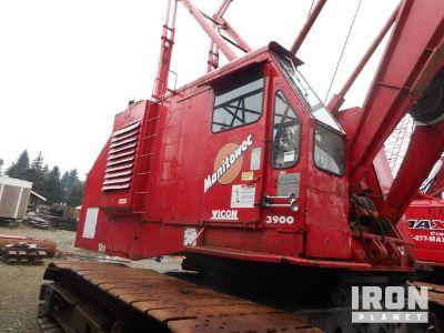 1969 Manitowoc 3900V 100 Ton Lattice-Boom Crawler Crane