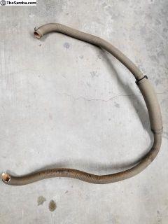 70 Ghia rear heater hose back window