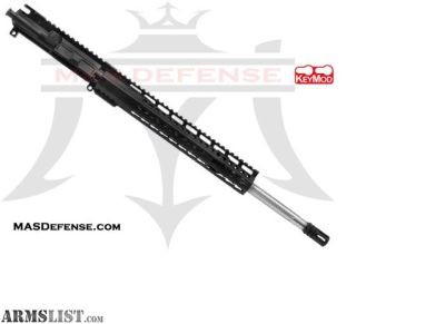 "For Sale: MAS DEFENSE 18"" .223 WYLDE FLUTED SS BARRELED UPPER RIDGELINE 12.5"" - BLEM 5.56, .223 WYLDE, AR15 AR 15 AR-15"