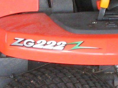 Kubota ZG 222