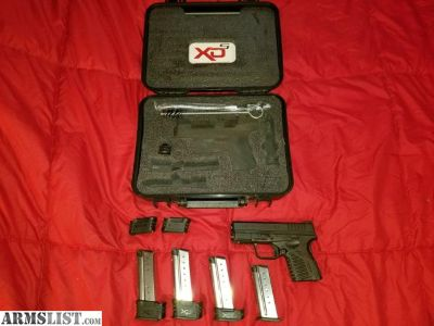 For Sale: Springfield XDs 9mm 3.3 Essential Black
