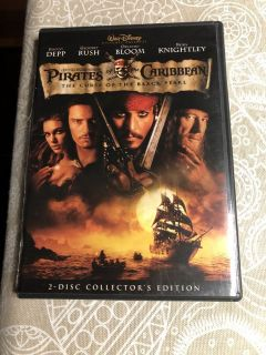 Pirates of The Caribbean - The Curse of the Black Pearl DVD - 2 Disc Collector's Edition