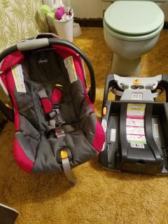 Infant seat and base