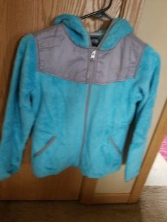 North Face osito hooded sweater girls