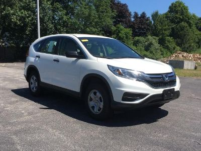2016 Honda CR-V LX (White Diamond Pearl)