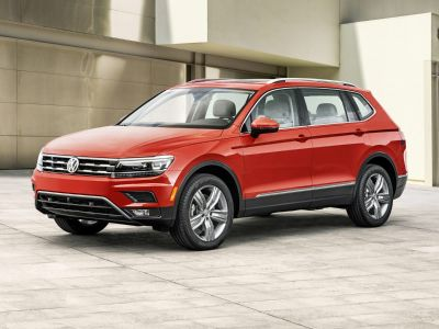 2019 Volkswagen Tiguan 2.0T SE (Habanero Orange Metallic)