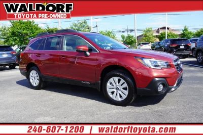 2018 Subaru Outback (Crimson Red Pearl)