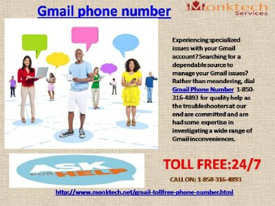 Flush away your issues with Gmail Phone Number 1-850-316-4893