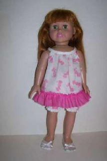 Doll Pajamas for 18 inch doll such as American Girl doll